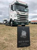 Baynes & Son Haulage Ltd Win Best in Show North Wales Truck Gathering 2018